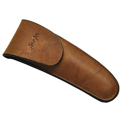 Gürteltasche aus Leder für Deejo 37g Messer - Deejo - Echtes Leder - Eine Elegante Tasche, mit der Sie Ihr Messer am Gürtel tragen können