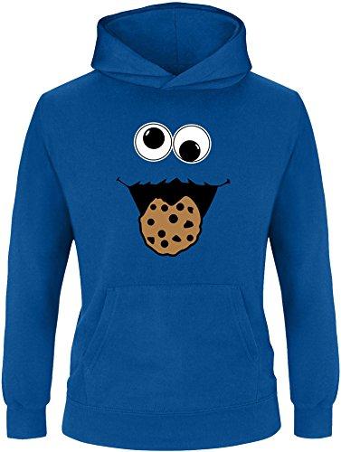 EZYshirt® Cookie Monster Kinder Hoodie | Kinder Kapuzenpullover | Kinder Pullover