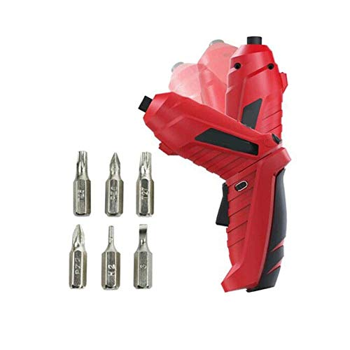 JF-XUAN Cordless Electric Drill Electric Screwdrivers, Household Power Tools, Small Hand Drills, Power Tools (Size : 3.6V)