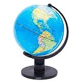 Exerz (L - Diámetro 25 CM Educativo Globo Girable/ Globo terráqueo...