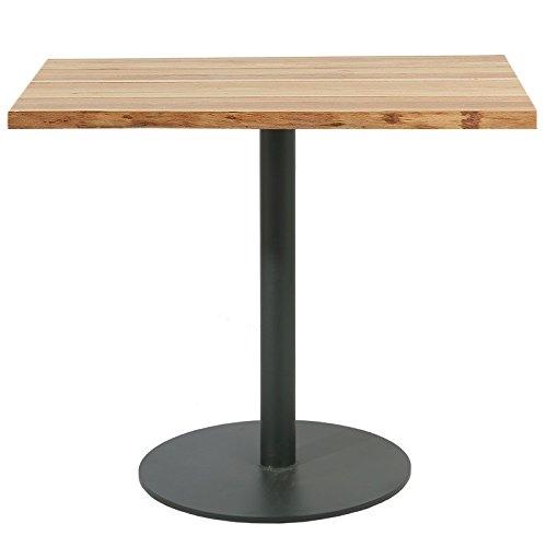 Table de bistrot en métal et bois Ontario