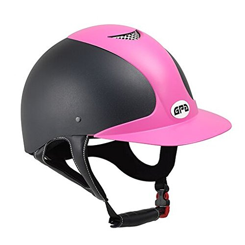Kavalkade GPA Reithelm Jimpi 2X, schwarz-pink, 56