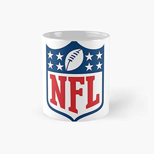 Taza clásica de la NFL con el mejor regalo, tazas de café divertidas, 11 onzas