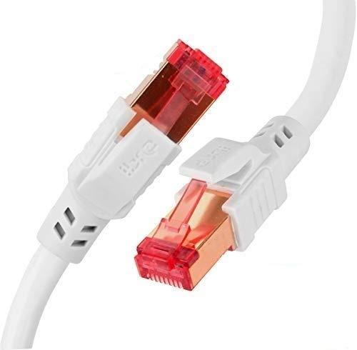 IBRA Cable de Red CAT8 Ethernet Gigabit LAN(RJ45) SSTP 40Gbps 2000Mhz|Cable de...