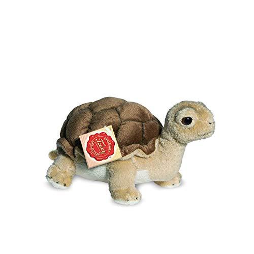 Teddy Hermann 90114 Schildkröte 20 cm, Kuscheltier, Plüschtier
