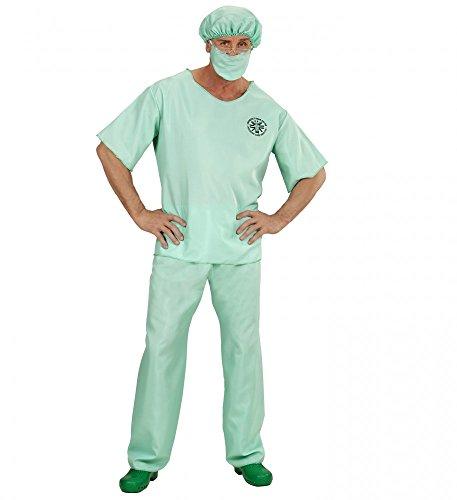 shoperama Notarzt Kostüm für Herren Doktor Arzt Chirurg Doc Emergency Room Doctor, Größe: XL