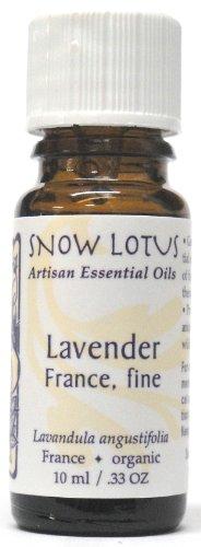 Snow Lotus Lavender France Fine Essential Oil Organic 10ml