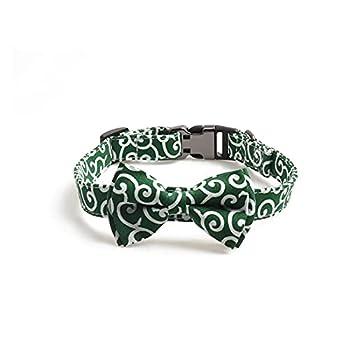 Wangweiming Boucle semipétale de style japonais Boucle Semimétal Animaux Colliers de chien Moyenne Chiens Moyenne Louvois Set Ensemble de cravat d'arc réglable WWM ( Color : 05 , Size : 2.0x30 45cm )