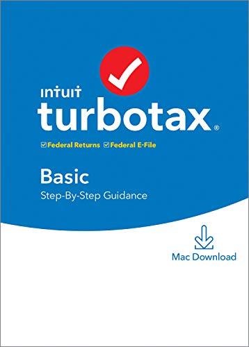 [Old Version] TurboTax Basic 2019 Tax Software [Mac Download]