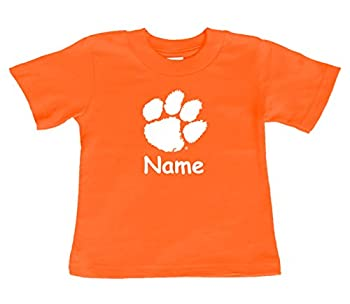 Future Tailgater Clemson Tigers Personalized Color Baby/Toddler T-Shirt  3T