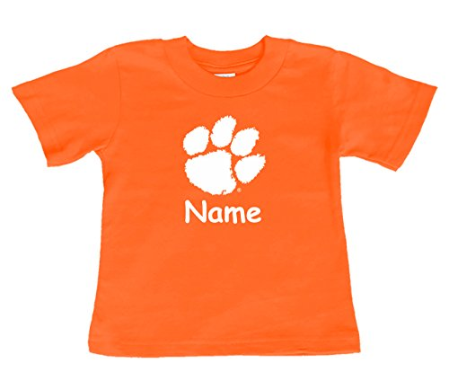 Future Tailgater Clemson Tigers Personalized Color Baby/Toddler T-Shirt (4T)