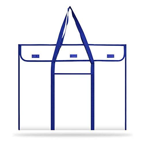 DREAMDEER Tableau d'affichage Tableau de Poche de Stockage d'art avec Poche pour Accessoires
