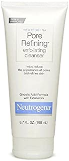 Neutrogena Pore Refining Exfoliating Cleanser, 6.7 Fl Oz (198ml) (PACK OF 2)