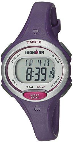 Timex Women's TW5K901009J Ironman Essential 30 Purple Resin Strap Watch
