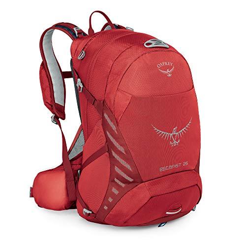 Osprey Escapist 25 Multisport-Rucksack für Männer -Sport Pack - Cayenne Red, (M/L)