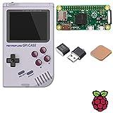 TAPDRA Raspberry Pi Zero Handheld Game Console GPi Case 128GB 14000+ Games Retropie Emulation Game Station with Safe Shutdown