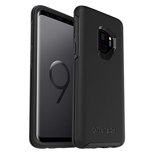 OtterBox Symmetry Sturzsichere Schutzhülle, (geeignet für Samsung Galaxy S9), schwarz
