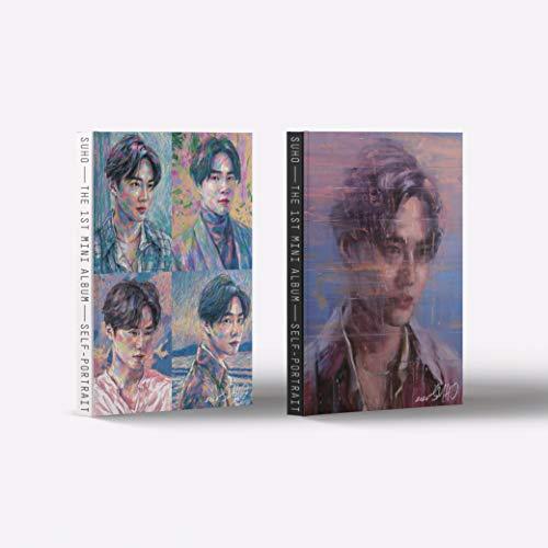 Suho EXO - Self-Portrait (1st Mini Album) Album+Folded Poster+Extra Photocards Set (Random ver.)