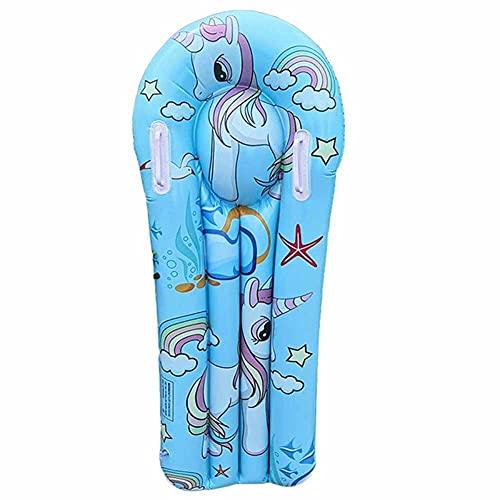 Tabla de Surf Inflable para Niños, Cama Flotante, Piscina Inflable, Flotador, Piscina de Flamencos, Fila Flotante, Verano, Alfombra de Agua para Niños, Tabla de Surf Inflable