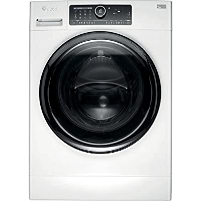 Whirlpool fscr10432 Freestanding Front-Load 10 kg 1400rpm A + + + black, white – Washing Machine (Freestanding, Front Loading, A + + +, a, b, black, white)