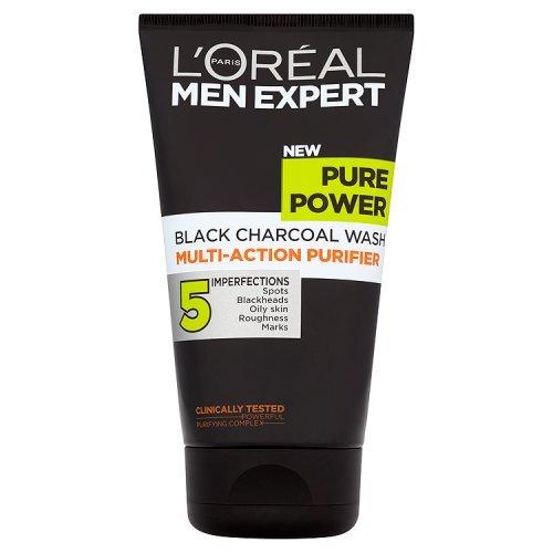 Men Expert by L'Oreal Paris Pure Power Black Charcoal Wash 150ml