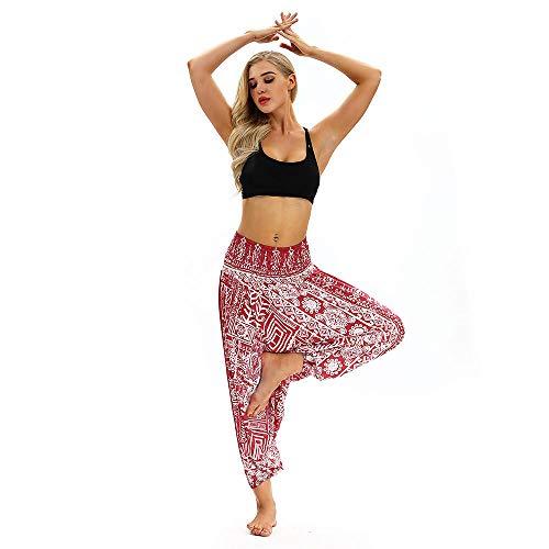 Yogabroek extra zachte legging met zakken voor dames,Dames yoga legging, polyester stretch jumpsuit-red_china,Blouse met V-hals