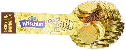 hitschler Goldmünzen Kaubonbon, 5er Set (5 x 150g Beutel)