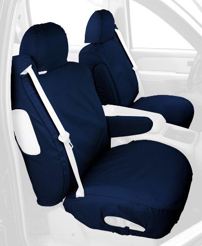 Covercraft SeatSaver Seat Protector: 1998-01 Fits Chevrolet (Polycotton, Navy Blue) (SS1238PCBL)