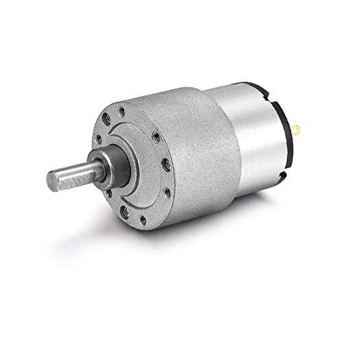 X-DREE DC 24V 35RPM 6mm Diámetro Eje Caja reductora eléctrica Motor de reducción de velocidad (Geared DC arbre électrique Boîte de réduction de vitesse du moteur