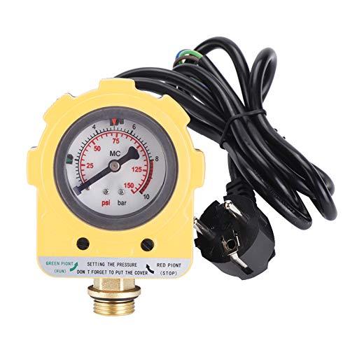 """Npt1 / 2""""-Druckschalter mit hoher Genauigkeit, EU-Stecker, Wasserpumpendruckschalter, praktisch für selbstansaugende Tauchpumpen"""