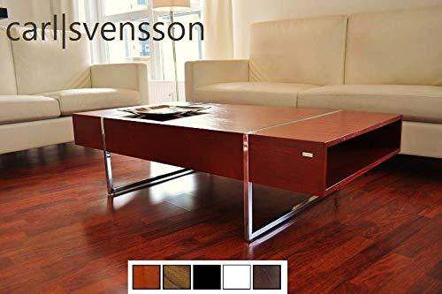Carl Svensson Design Couchtisch Tisch Wohnzimmertisch N-111 Ablagefächer (Kirschbaum)