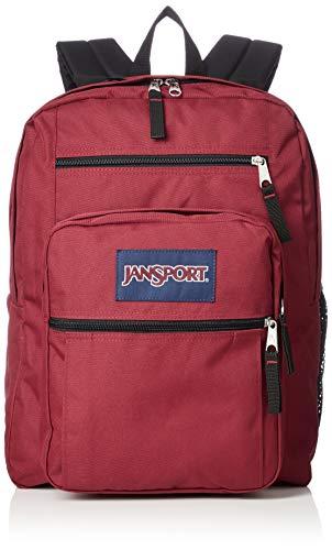 JANSPORT Big Student Mochila unisex Viking Red, 17,5 x 13 x 10 pulgadas