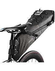 ROCKBROS(ロックブロス)自転車 サドルバッグ 大容量 リアバッグ 防水 TPU加工 収納力抜群 反射テープ付き