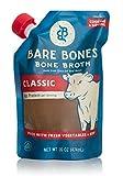 Beef Bone Broth by Bare Bones - Grass-fed, Organic, Beef Bone Broth, Protein-rich, 16 oz (2-pack)