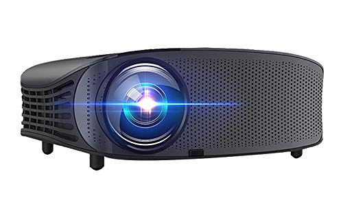 Mini proyector LCD proyector 1080P con HDMI / VGA / USB / SD / AV para entretenimiento en casa, Home Theatre, fiesta y juegos, gran regalo de Navidad para los niños