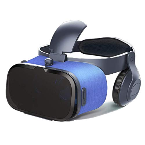 Review Of Virtual Reality Headset,VR Glasses with Headphones,3D Goggles with Focal Length Adjustment...