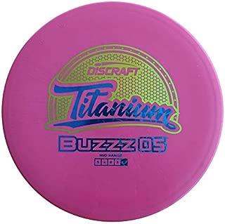 Discraft TIBUZOS-177+ Titanium Buzz Disc, Assorted, One Size