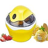 Macchine del gelato LJ Verticale, 500ml Gelatiera Coperchio Visibile Macchina, Basso consumo energetico