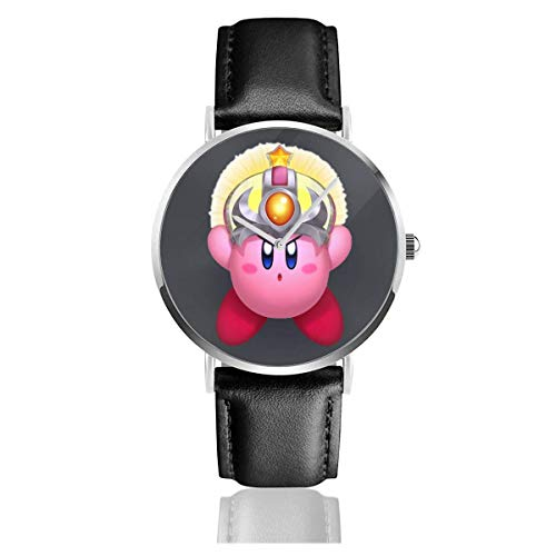 Orologio da polso ultra sottile con cinturino in pelle UV da polso Kirby Personality
