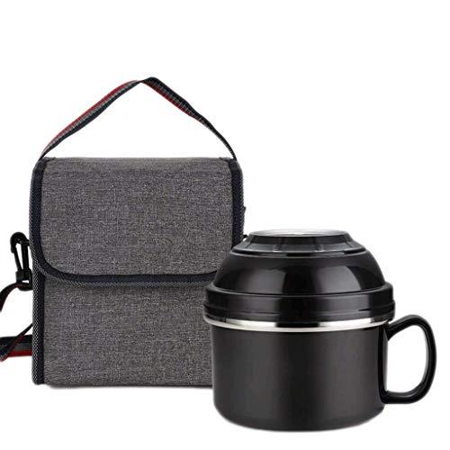 Vaatwerk Grote capaciteit roestvrijstalen voedselcontainer voor picknicks en partijen Volwassenen Bento Lunchbox Set met opvouwbare Spork Afwasmachine Veilig en Bpafree All Roestvrij (Kleur: C)