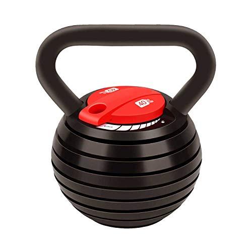 Set di pesi Kettlebell regolabili per Kettlebell 10, 15, 20, 25, 30, 35, 18 kg, ottimo assistente per il fitness a casa e ufficio.