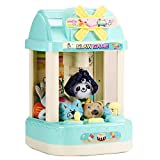 CISAY Claw Machine,C2 Retro Rocker Mini Claw Machine with Music and Lighting, Giving Children The Best Gift (Green)