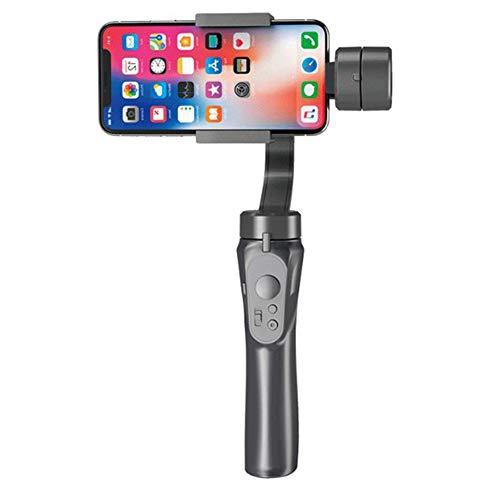 ZHHWYP Handy Gimbal Stabilisator für Smartphone,Keine Balance nötig 3-Achsen Foldable Phone Handheld Stabilizer für iPhone 6/7/8 Plus/X/XS/XR,Samsung S9/8/7 Edge,Huawei und höher