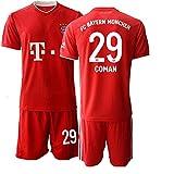 JEEG 20/21 Herren COMAN 29# Fußball Trikot Fans Jersey Trainings Trikots (L)