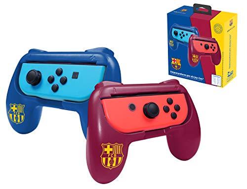 FCB FC Barcelona grips (empuñaduras) accesorio para mando JoyCons Nintendo Switch