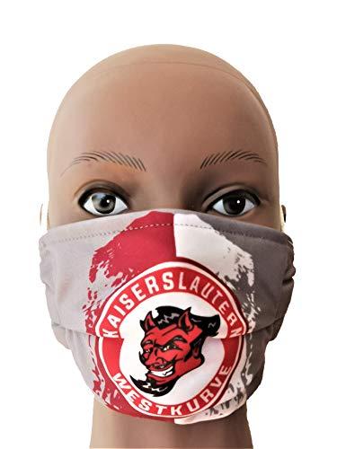 Generisch Kaiserslautern Maske, Kaiserslautern Westkurve Maske, Kaiserslautern Vermummungsmaske