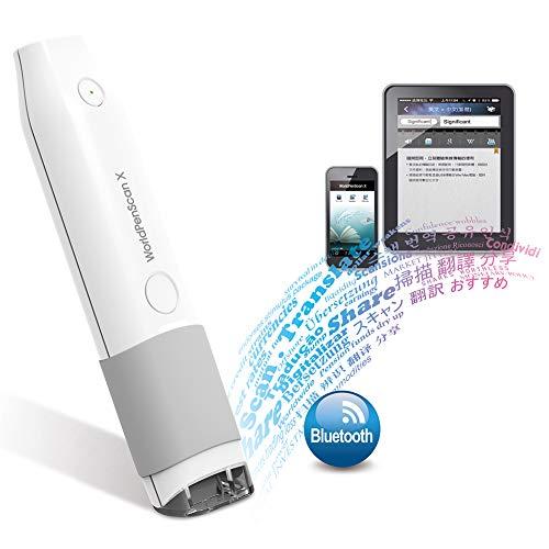 Stylo De Numérisation Bluetooth Intelligent, Scanner Automatique À Saisie De Texte USB Compatible Windows/Mac/Android/iOS