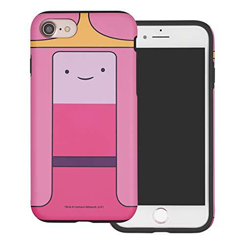 Custodia per iPhone 6S Plus/iPhone 6 Plus, Adventure Time Hybrid [TPU + PC] Bumper Cover per iPhone6S Plus/iPhone6 Plus Princess Bubblegum (iPhone 6S Plus/iPhone 6 Plus).
