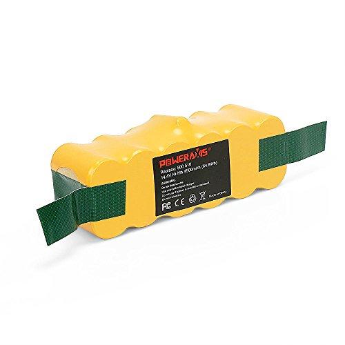 POWERAXIS Akku für iRobot Roomba, NI-MH 4500mAh für iRobot Ersatzbatterie für iRobot Roomba StaubSauger Serie 500 600 700 800 900 960 615 691 898 966 i7156