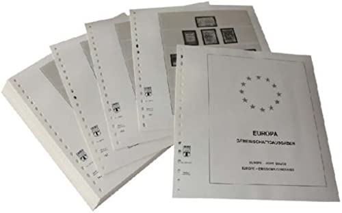 LINDNER Das Original Europa Sondergebiete Europa CEPT Gemeinschaftsausgaben EU-L er - Vordruckalbum Jahrgang 2012-2014